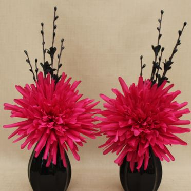 Pink Fake or artificial flowers and floral arrangements